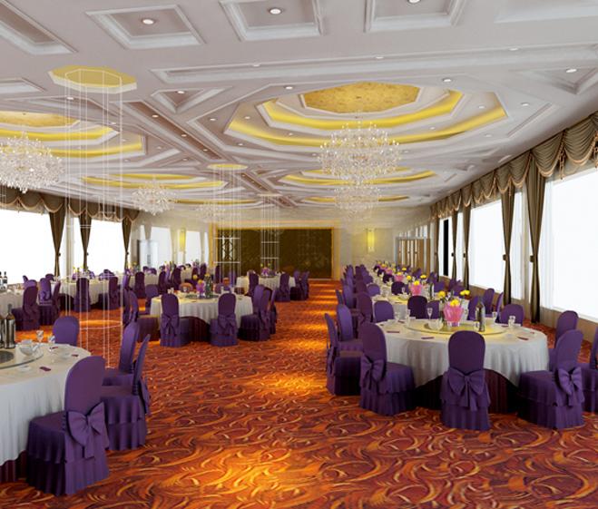 酒店宴会厅设计方案效果图