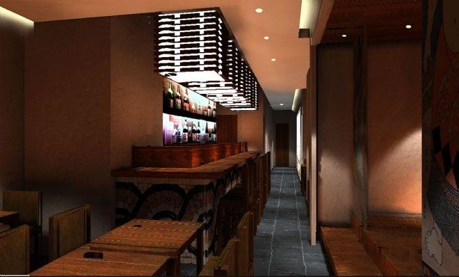 设计师浅谈个体小餐馆设计装修