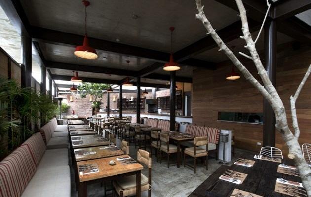 融入自然的西餐厅设计案例欣赏