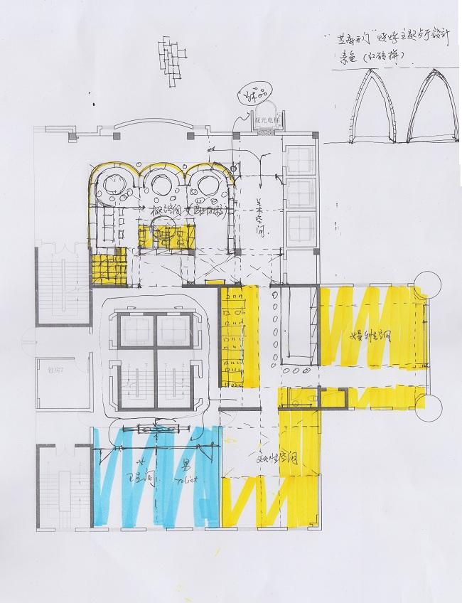 长寿路烧烤主题餐厅设计案例(上海)