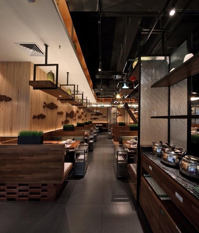 """""""鱼仓""""概念餐厅设计方案进行中.(杭州)"""