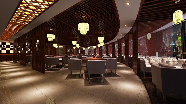 """""""小昆山镇""""酒店中餐厅设计(上海)"""