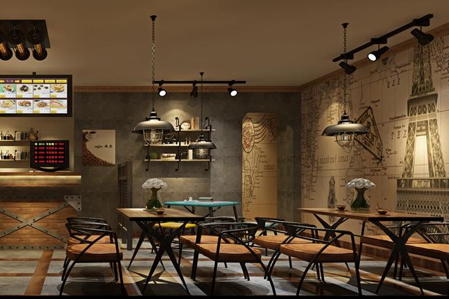 """Ciao_Cafe""西尔咖啡西餐厅设计案例(上海)"