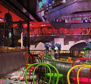 """Fish Factory 鱼工厂""特色餐厅设计(湖北)"