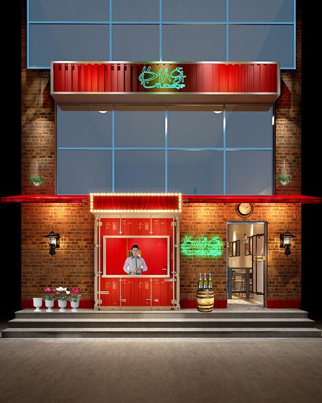 """浦东""""兔��哥""""烧烤餐厅室内设计(上海)"""