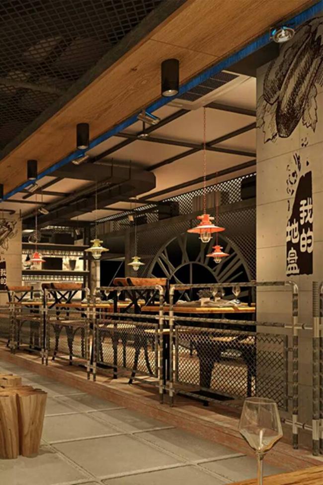 沸鱼小镇创意餐厅设计 (上海) 设计师:Jason Yang        专注高品质的餐饮设计,活跃于餐饮设计专业领域,致力于中国餐饮文化的传播,业务立足全国省市及自治区,辐射全球华人社区。拥有一批经验丰富的专业设计人员,是一支充满活力的创作团队,始终注重将设计和客户的商业目标完美结合。多年的实践中,主题餐饮,时尚餐厅已经成为设计业务的主要专注对象,我们力求中华餐饮文化的传承与创新。中国餐饮设计梦之队:专注设计,品质为先