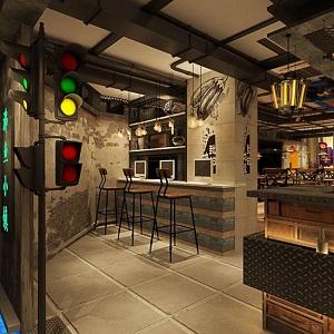 """上海""""沸鱼小镇""""创意餐厅设计(中国)"""