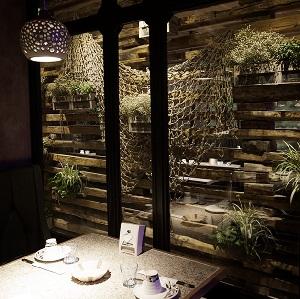 """北京""""江边城外""""烤鱼主题餐厅设计"""
