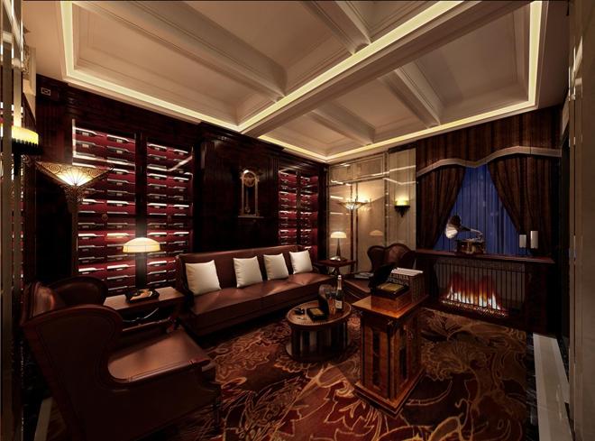 """上海""""贝轩大公馆""""餐饮会所改造设计(中国)"""