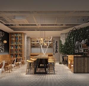 """上海""""懒面馆""""创意休闲餐厅设计(中国)"""
