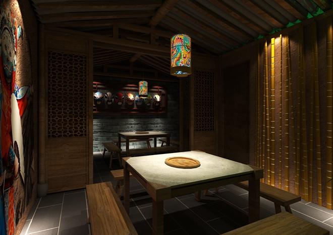 """上海""""小龙坎""""火锅餐厅创意设计(中国)"""