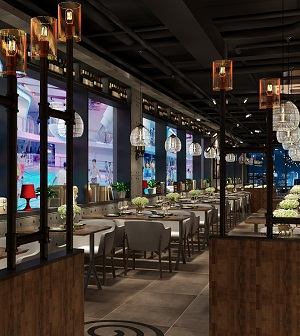 """""""东遇西""""中西融合餐厅创意设计(徐州)"""