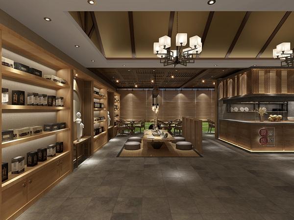 """上海""""源深""""茶艺馆创意设计(中国)"""